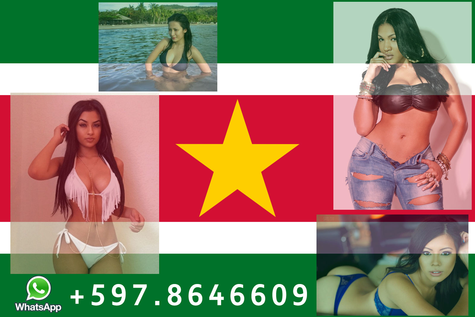 Escort Suriname: Meet a nice lady in Paramaribo